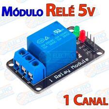 Modulo Rele 5v 1 canal 10A 250v activo nivel bajo - Arduino Electronica DIY