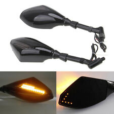 BMW R1200GS S1000XR F800GS F650GS Rear View Mirrors + LED Turn Signal Indicator