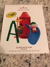 Hallmark 2019 Slide Into Fun Crayola Crayons Christmas Ornament ~ New