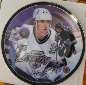 The Great Gretzky Bradford Exchange Plate First issue Heroes On Ice Collection