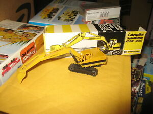 Caterpillar Hydraulikbagger CAT 225 by NZG in 1/87 scale - Diecast