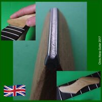 Diamond Guitar Fret Crowning File with Oak Handle. Concave Profile UK MADE TF085
