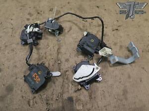 02-10 LEXUS Z40 SC430 5pcs A/C HEATER FLAP DOOR ACTUATOR MOTOR WIRING SET OEM