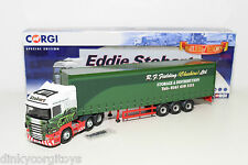 CORGI TOYS CC13754 SCANIA TRUCK EDDIE STOBART WITH FIELDING CHESHIRE TRAILER MB