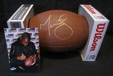 Chicago Bear & New England Patriot Martellus Bennett autographed football