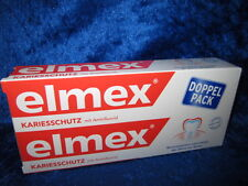 2 x 75 ml ELMEX CARIES PROTECTION TOOTHPASTE with aminfluoride