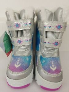 Disney Frozen II Winter Snow Boots, Toddler Girls Size 7 NEW with Tags