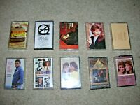 $3 SALE Country Music 1970 1980 1990 Cassette Tapes Originals w/ Media Inserts