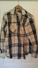 Men's, American Rag, Casual, Long Sleeve, Shirt, Cotton, Large