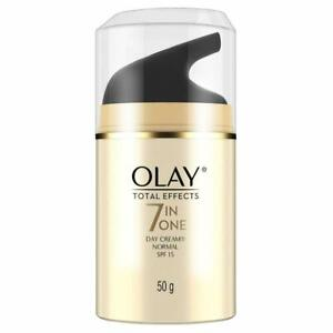 100% Original Olay Total Effects 7-in-1 Anti Aging Day Cream SPF 15 50g