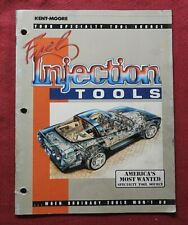 1991 Kent Moore Special Tools For Fuel Injection Corvette Chrysler Catalog