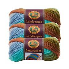 Lion Brand Yarn 545-213 Landscapes Yarn, Meadow (Pack of 3 skeins)