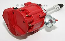 Big Block Chevy HEI Distributor 65K Volt Ignition Super Coil Red Cap 454 427 396