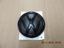 original VW GOLF 4 Polo 6n2 LUPO vw- dibujo negro Emblema trasero 1j6853630a