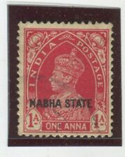 India - Convention States - Nabha Stamps Scott  #72 Used,Fine-VF  (X6693N)