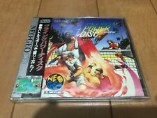 NEoGeo CD Windjammers (FLING POWER DISC) with Box,Manual Japan BRAND NEW