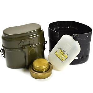 Genuine Swedish Army Trangia SVEA Stove Camping Cooker spirit burner + Mess kit