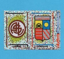 PANINI CALCIATORI 1998/99-Figurina n.632-LIVORNO+LUMEZZANE-SCUDETTO-CON PUNT-NEW