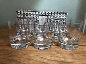 Ichendorf Milano bicchieri acqua Whisky Glasses SET OF SIX