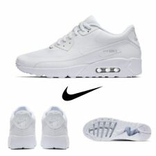 Nike Air Max 90 Ultra Essential Running Sneakers White 875695 101 Sz 4-13