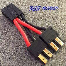 Traxxas 2-Male to 1-Female Parallel TRX Connector Adapter E Revo LiPO Solderless
