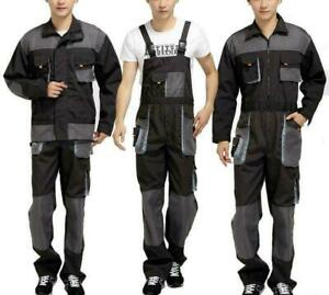 Workwear Coveralls Mechanic Overalls Jumpsuit Outfit Pants Suspender Protect New
