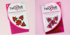 Heartfelt Creations POINSETTIA & HOLLY CLUSTERS Die & Stamp Set