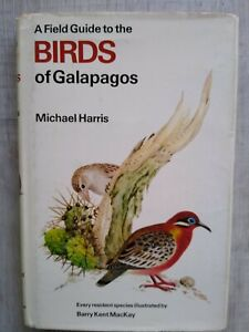 BIRDS of GALAPAGOS by Harris, illustrated by Barry Kent MacKay