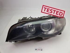 ✅✅✅BMW E46 COUPE FACELIFT BI XENON LEFT HEADLIGHT RIGHT HAND DRIVE 7165899