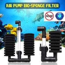 4pc Bio Sponge Filter for Fry Betta Shrimp Nano Aquarium Fish Tank 10 Gallons