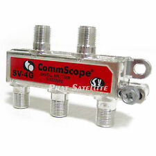 CommScope 4 way RG-6 COAXIAL TV VIDEO CABLE SPLITTER 5-1002Mhz XFINITY COMCAST