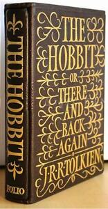 THE HOBBIT Tolkien FOLIO SOCIETY ~ 1979 SLIPCASED ILLUS LIMITED ED Try & Find 1