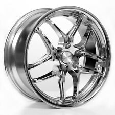"4new 18x8/9"" ACE D659 Vertex Chrome Wheels (5x112, ET 35/ 40)"