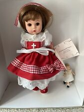 "MADAME ALEXANDER ""Doll Hospital Nurse"" With Patient # 33575"