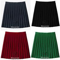 Women Japan JK School Girl Uniform Plaid Pleated Mini Skirt Cosplay Dress