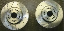 FIT FOR TOYTA SUPRA TWIN TURBO  GROOVED BRAKE DISCS 323X28MM