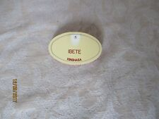 NAMETAG NAME TAG CAST MEMBER MEMBERS DISNEYLAND PARIS   /   IBETE
