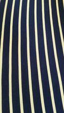 "Striped Bodycon Dress Top Jersey Lycra Stretch Fabric 60"" Width Navy/White"