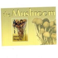 Mongolia 2003 - Mushrooms - Souvenir Sheet - MNH