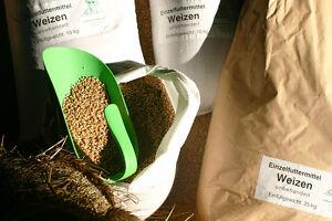 Weizen (0,64 €/kg) Futter GVO-frei 25kg Ernte ´20 Geflügel Nager Fischzucht