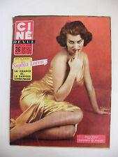 Ciné Revue N°23 Juin 1956 Sophia Loren
