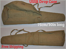 USSR Soviet aka 47 74 Drop Case Kalashnikov Rifle Cover Bag 30in Canvas