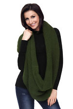Cable knit chunky scarf ladies scarfs scarves warm autumn winter