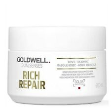 Goldwell Rich Repair 60sec Treatment Repairs & Heals Dry & Limp Hair 200ml