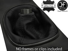 BLACK STITCH MANUAL REAL LEATHER SHIFT BOOT FITS ACURA RSX TYPE S TYPE R 02-06