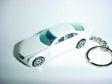 NEW 3D CADILLAC 2014 ELMIRAJ CUSTOM KEYCHAIN keyring key white finish CLASS ACT!