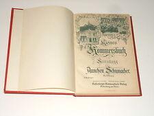 Kleines Kommersbuch - Sammlung von Ännchen Schumacher - Godeberg