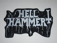 HELLHAMMER BLACK METAL EMBROIDERED BACK PATCH