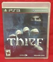 Thief  - Sony PlayStation 3 PS3 Game Tested + Works