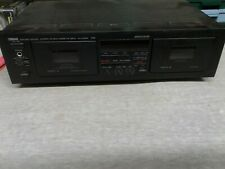YAMAHA KX-W362 Dual Natural Sound Stereo Cassette Player / Recorder Deck
